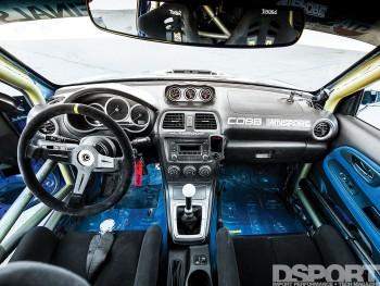 Jager Subaru STi interior