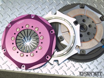 Exedy drag racing clutch.