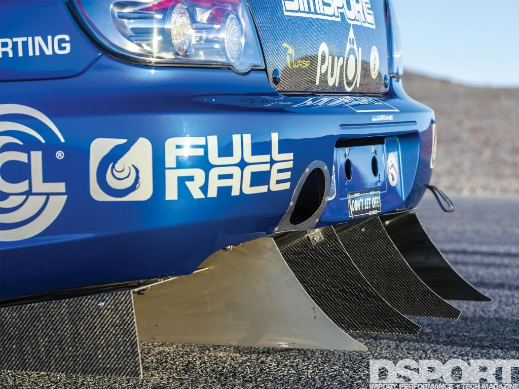 Jager Subaru STi tail