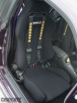 Driver seat in the RB26 swapped Nissan S13
