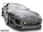 Front of the Show and Go Toyota Supra