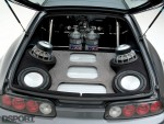 Audio system in this Show and Go Toyota Supra