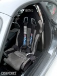 Sparco seats in the Show and Go Toyota Supra
