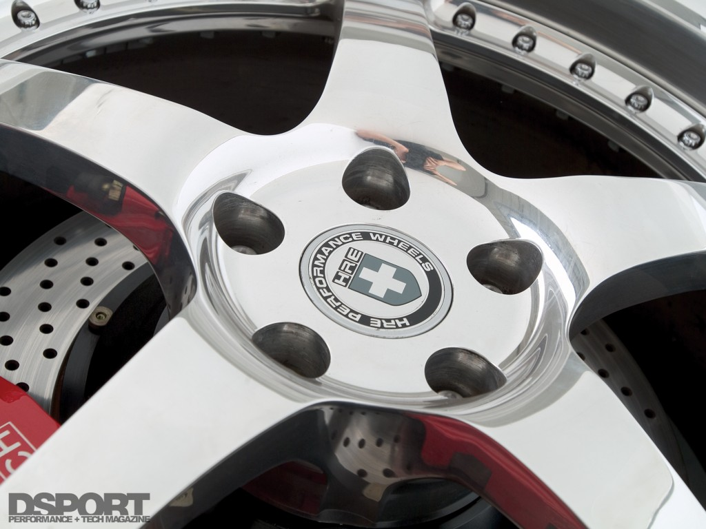 HRE wheels for the Show and Go Toyota Supra