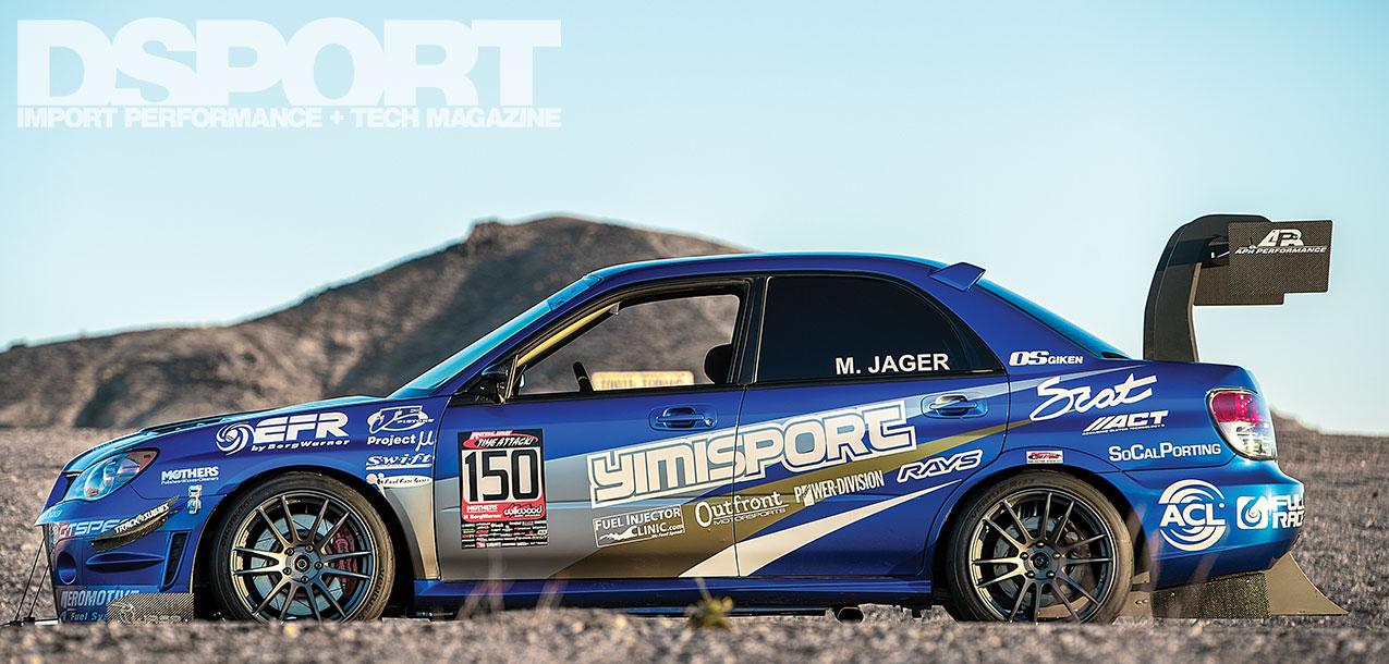 Jager 2006 GDB Subaru STi feature banner