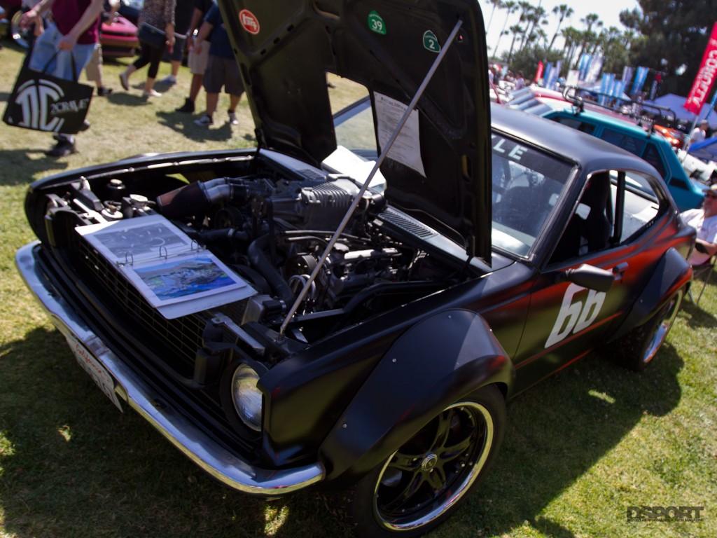 Nice kit on old school Toyota