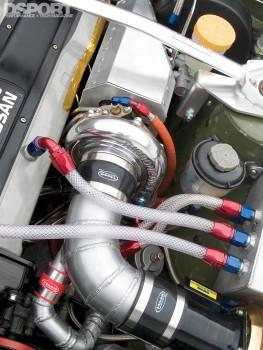 Turbo in Jensen's RB25 Nissan 240SX