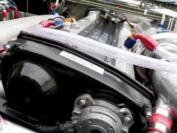 Cam angle sensor on Jensen's RB25 Nissan 240SX