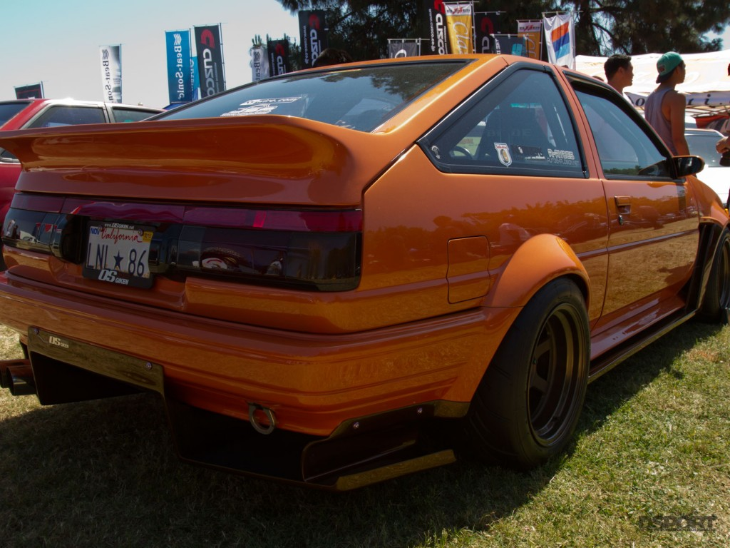 Classic example of the Toyota 86