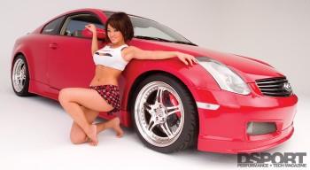 Natasha Yi DSPORT Second Date