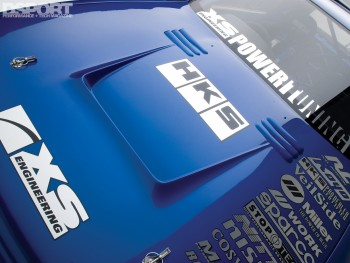 Hood on the XS engineering Nissan R32 GT-R