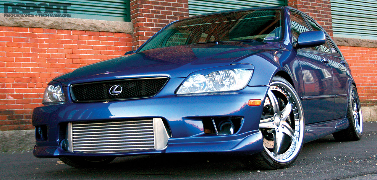1,036 WHP 2JZ Powered Lexus IS300