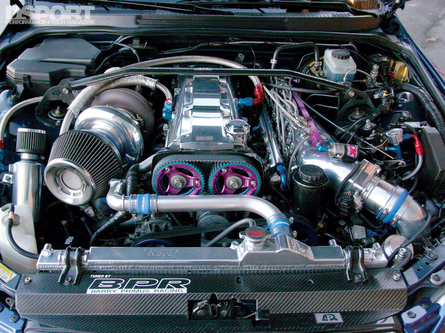 1,036 WHP 2JZ Powered Lexus IS300