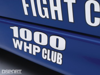 1000 WHP for the English Racing EVO VIII
