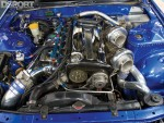 RB30 converted RB26 engine in the OS Giken R32