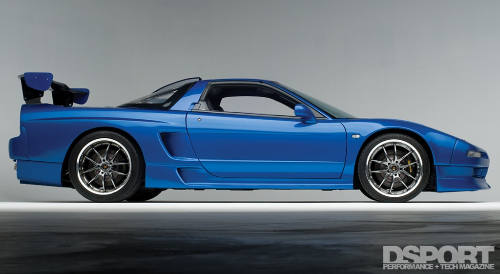 Acura NSX Side View
