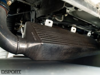 Intercooler for the Acura NSX