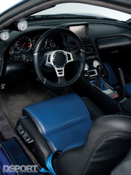 Interior of the Acura NSX