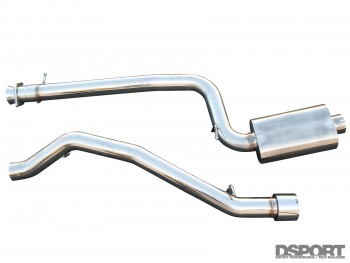 CP-E 3 inch exhaust for the Mazdaspeed3