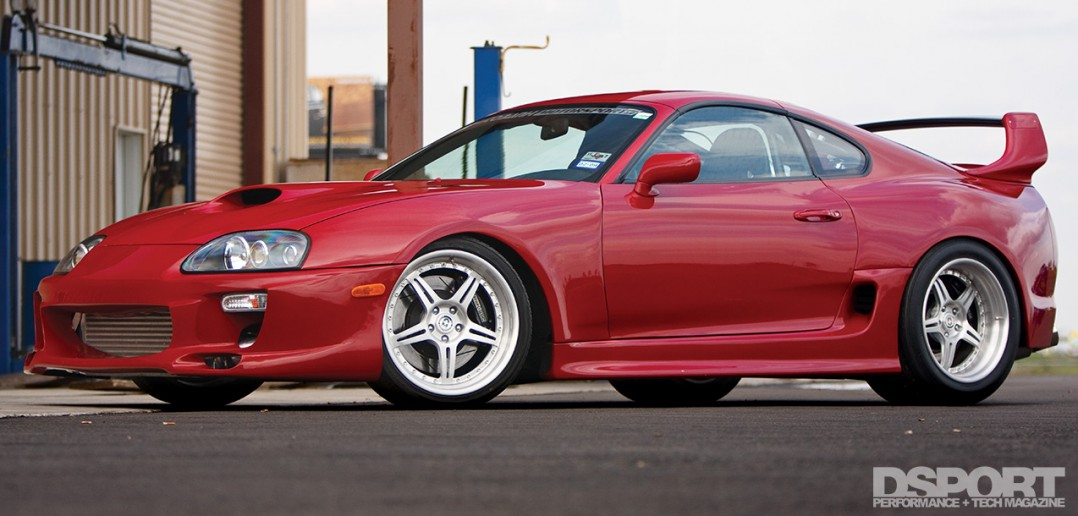 """Big Red"" Toyota Supra"