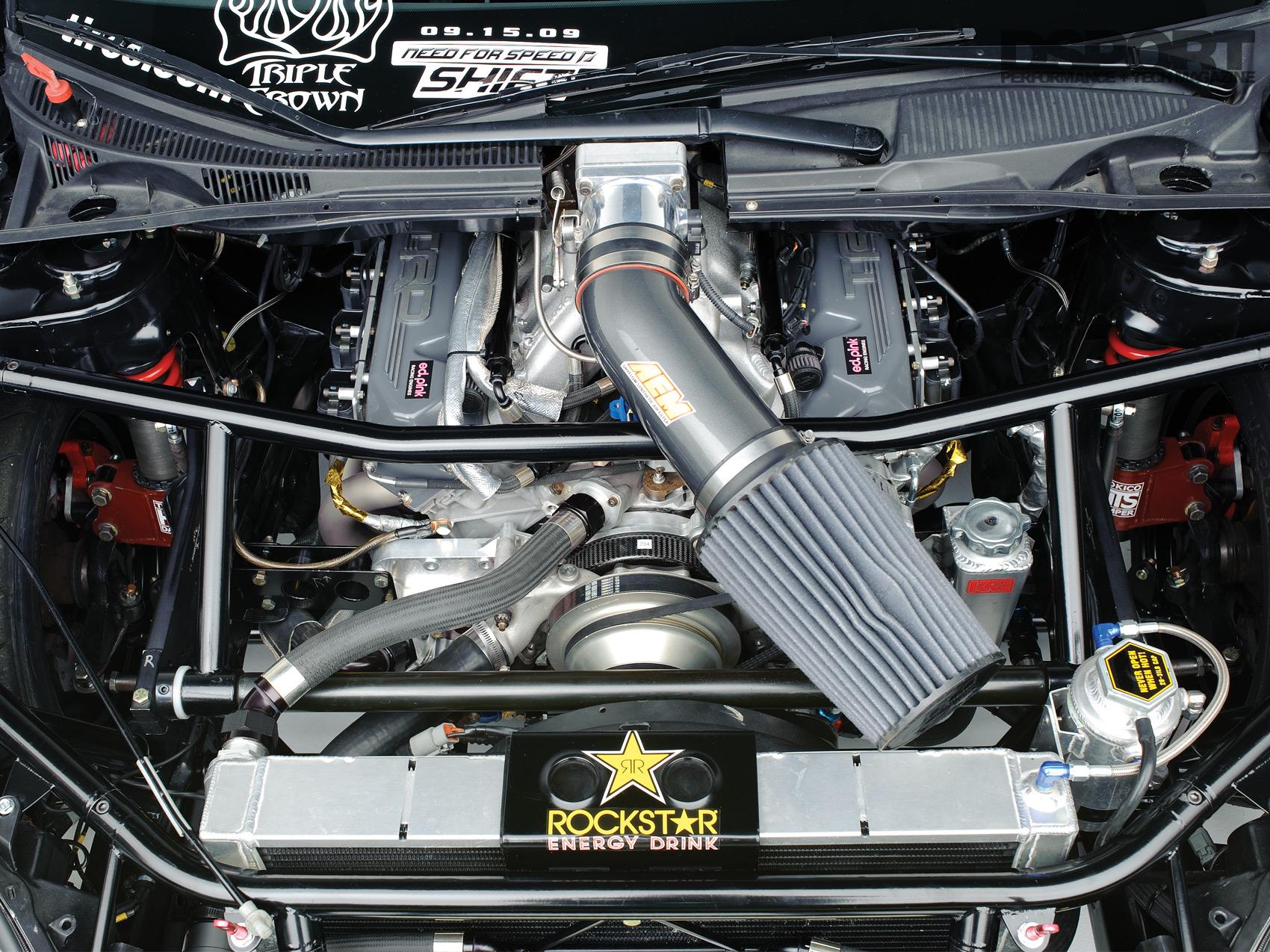 Tanner Scion TC Engine Bay