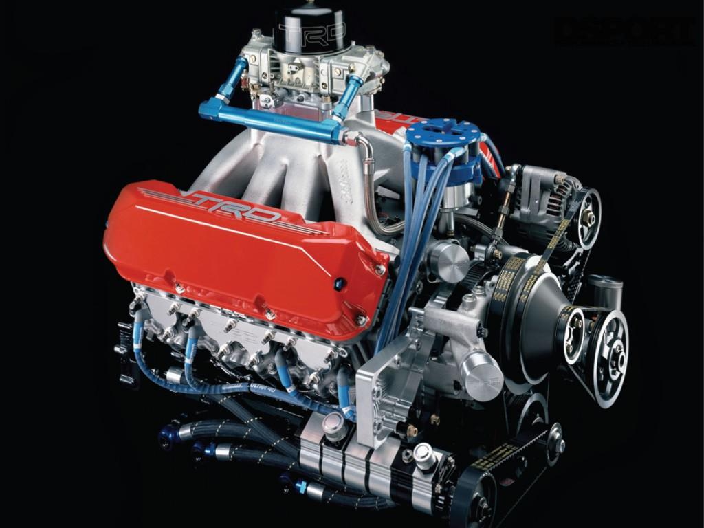 TRD V8 Motor