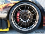 Volk Racing wheels on the J's Racing Honda S2000