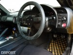 Interior of the J's Racing Honda S2000