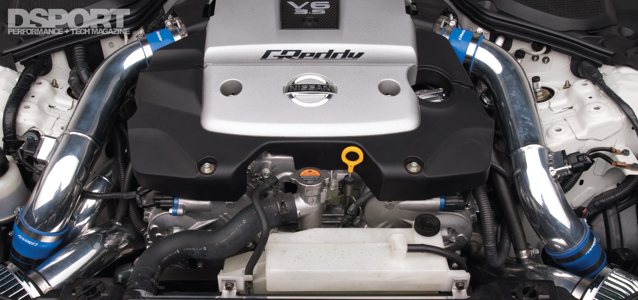 4 2-liters And Two Turbos Boost The Nissan 350Z To New Heights