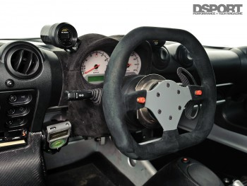 Interior of the Twincharged Exige
