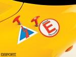 Lotus Exige Fire stickers