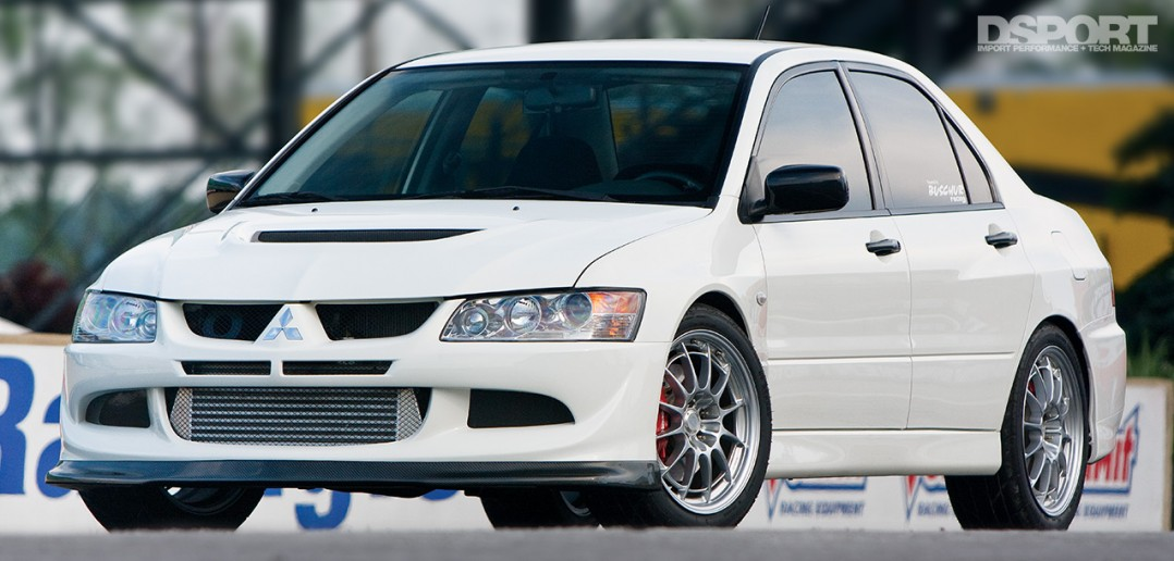 The Buschur Racing EVO VIII RS