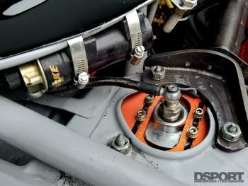 Dual-adjustable dampers on Chris Rado's Scion tC