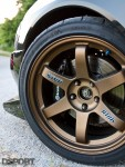 Volk Racing wheels on the AMS Mitsubishi EVO VIII