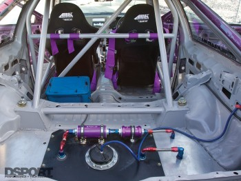 Fuel Cell inside the SR-powered drift AE86