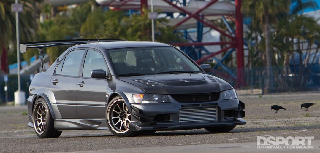 Mitsubishi EVO IX with Voltex Racing Cyber kit