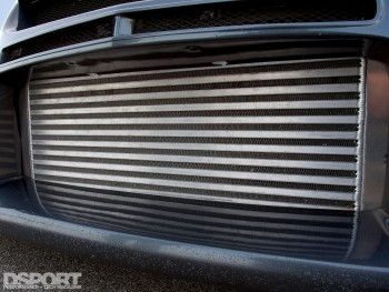 ETS intercooler for the Mitsubishi EVO IX with Voltex Racing Cyber kit