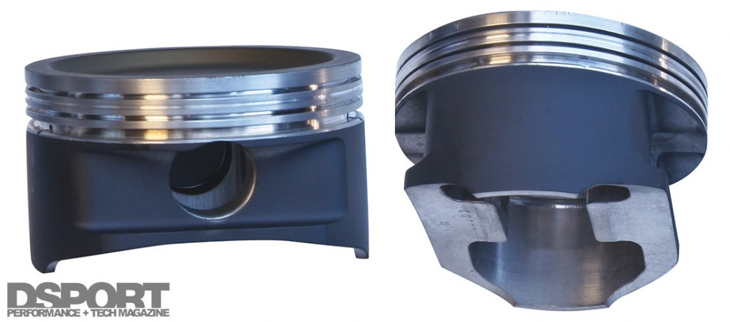 MAHLE forged aluminum pistons with coatings
