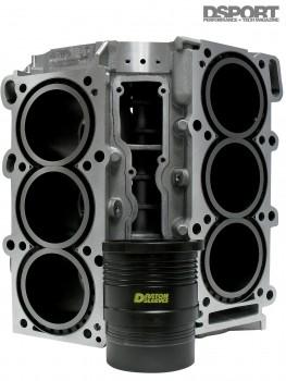 Darton sleeved engine block