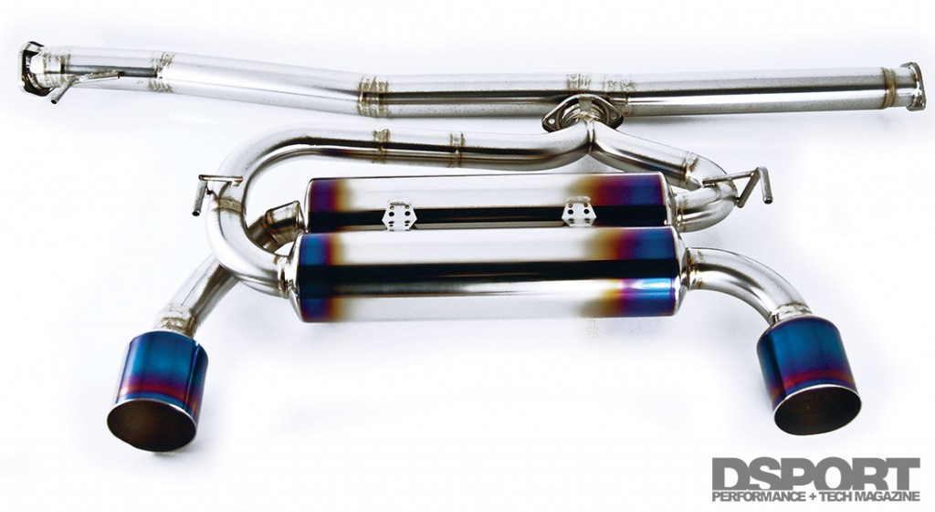 Amuse GTM1 exhaust