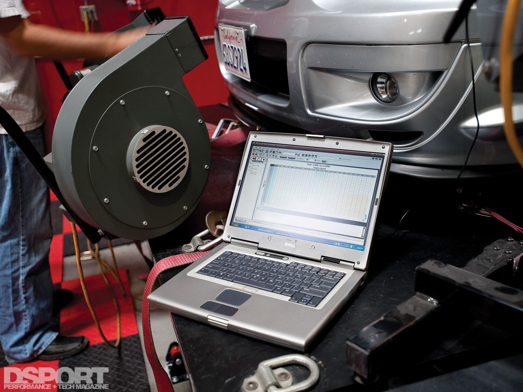 Tuning on the dyno