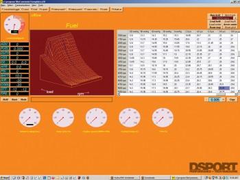 Engine Management data