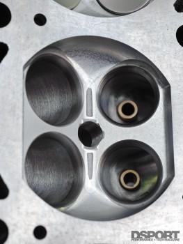 CNC ported cylinder head