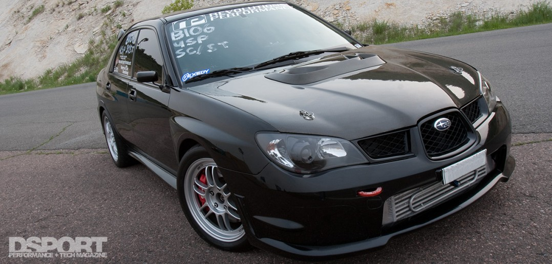 457 WHP 10-Second Subaru STI