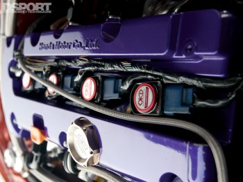 Valve cover for this 786 HP Turbocharged K-series Honda Civic