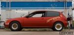 Side profile of the 786 HP Turbocharged K-series Honda Civic