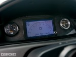 Gauges in the dash in the 786 HP Turbocharged K-series Honda Civic