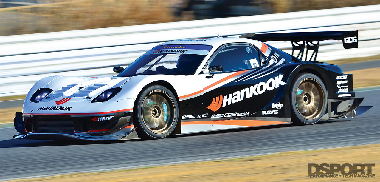 Revolution Mazda RX-7 on track
