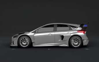 Focus RS Rallycross profile