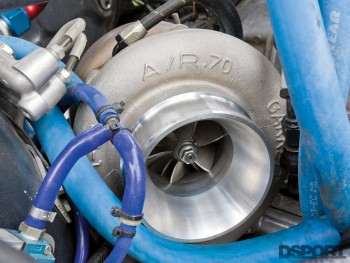 Turbocharger for the 642 HP STI